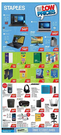 Staples Canada Flyer